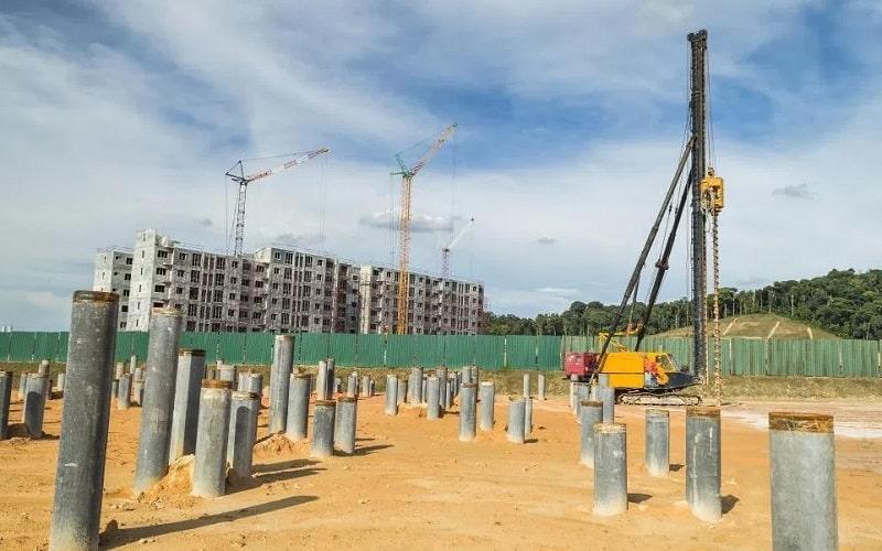 Pondasi Tiang Pancang - Pengertian, Kelebihan, Fungsi pada Bangunan
