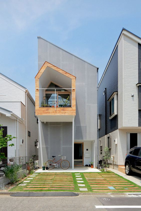 Contoh Desain Rumah 2 Lantai Minimalis Untuk Hunian Perkotaan