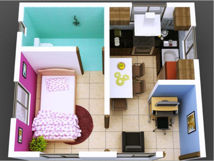 Rumah Type 21 - Desain, Harga, Biaya Bangun, dan Keuntungan