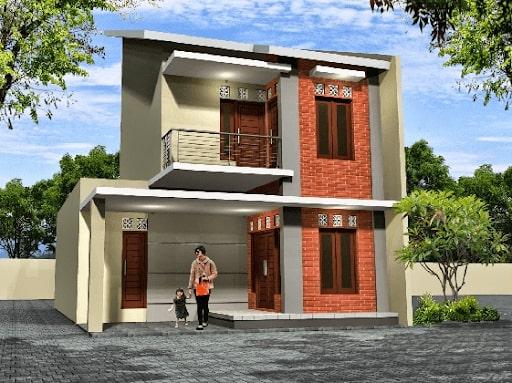 Inspirasi 10 Desain Rumah Minimalis Terbaru 2021 Tampak Mewah